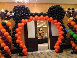Halloween Inflatable Archway Entrance by Halloween Balloon Decoration Mickey Mouse Balloon Arch Balloon