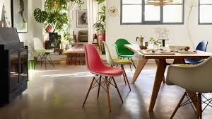 Vitra | Eames Plastic Chair Charles And Ray Eames Chair Vitra Plastic Armchair Daw With Full Upholstery Side Dsw By 1950 Style Dowel And Chairs 115 For Sale At 1stdibs Lounge Ottoman Herman Miller Eiffel Inspired Ding Retro Design Dsr Viaduct