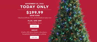 Christmas Tree Types Canada hudson u0027s bay canada pre black friday one day sale save 300 on