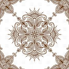 Kaleidoscopic Floral Ethnic Ornament Vector Clipart NewWaySys