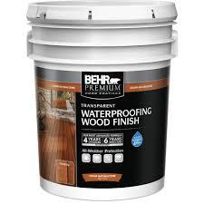 behr premium 5 gal cedar naturaltone transparent waterproofing