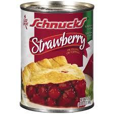 Schnucks Strawberry Pie Filling Topping