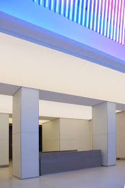 Newmat Light Stretched Ceiling by Office Building 2009 Ny U2013 Newmat Stretch Ceiling U0026 Wall Systems