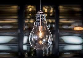 oversized bulb ceiling light furniture