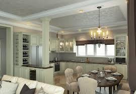 gemütliche küche ess wohnzimmer 6 empfänge der verbindung