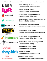 Coupon Codes / Promo Codes - Uber, Lyft, Mercari, Ebates ... Treadmills To Use With The Peloton Tread App Treadmill At Apparel Clothing Fitness Athletic Wear 2000 Discount On A Chris Hutchins Lumens Coupon Code 98 Tutorial C Cycle Subject Codes With Video Adment No1 Form S1 One Year Bike Review Bike Reviews Can I Add Or Voucher Honey Hotelscom Coupon Code How Use Promo Codes And Coupons For Is Worth It My 2019