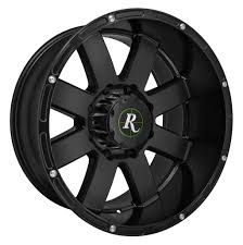 100 20 Inch Truck Rims 4 Remington 8Point X 10 8x180 Black OFST25mm