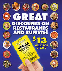 Save Every Time You Eat With The Vegas Dining Card From ...