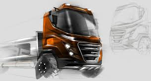 100 Truck Design Sketch Photoshop Retouch Commercial Vehicles