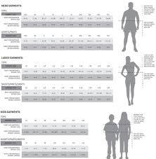 blk size chart