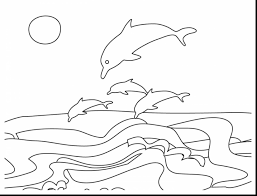 Unbelievable Beach Coloring Pages With Ocean And Pdf