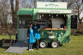 Mobile Vintage Food Truck Serving Wood Fired Pizza Specialising In ...