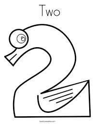 Two Coloring Page