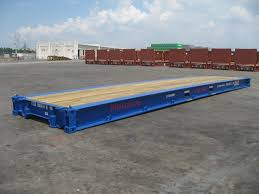 100 40 Foot Containers For Sale Shipping Container Flat Rack Bolster Flat Rack