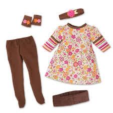 Amazoncom Mapleleas Florabundance Outfit For 18 Inch Dolls Toys