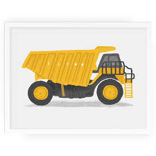 Personalised Dump Truck Wall Art - Kids Construction Nursery Art ... Cstruction Dump Truck Toy Hard Hat Boys Girls Kids Men Women Us 242 148 Alloy Pull Back Engineer Childrens Goki Nature Monkey Amazoncom Wvol Big For With Friction Power And Excavator Learn Transportcars Tonka Ride On Mighty For Youtube Capvating Coloring Simple Drawing Pages Best Of Funny The Award Wning Hammacher Schlemmer Colors Children To With Toys W 12 V Battery Powered On Dumper Bucket By Surwish Simulation Eeering Vehicles