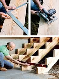 faire un escalier soi meme 3 fabriquer un escalier en bois