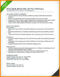 Welding Resume Objective Examples Construction On The Road Welder Functional Sample Pipe