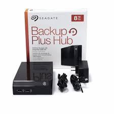 bureau plus title seagate backup plus hub 8tb external usb 3 0 desktop