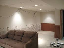 Inexpensive Basement Ceiling Ideas by Basement Ceiling Finishing Ideas White Mold On Basement Walls