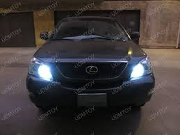2008 lexus rx350 with extremely bright 9005 cree led drl ijdmtoy