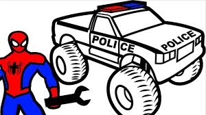Spiderman Repair Police Monster Truck Coloring Pages For Kids ... Hot Wheels 2 Pack Monster Jam Truck Lowest Prices Specials Budhatrains Gallery Clodtalk The Home Of Rc Trucks Mainyt Akrobatas Su Spiderman Atributika Skelbiult Disney Regenr8rs 124 Spiderman Head Transforming Car Toys Games Super Hero Amazing Spider Man Blaze Toys And Monster Truck Games Tow Mater Monster Truck Hulk Nursery Rhymes Songs Dickie 112 Cyber Cycle Rtr With Remote Control Spiderman Mcqueen Cars Cartoon Stuntsnursery Comfortliving Two Sided Toy Game Flip Push New 1pcs Minions Four Drive Inertia Double Sided Dump