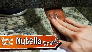 nutella prank youtube
