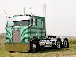 Custom Photo Cabover Kenworth Semi Truck Images, Old Semi Trucks ...