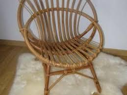 siege en rotin fauteuil en rotin ées 50 par ribambelle et compagnie