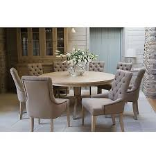 John Lewis Neptune Henley 8 Seat Round Dining Table With Chairs