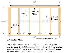 8x10 Saltbox Shed Plans by Back Wall Saltbox Shed Plans Page 6