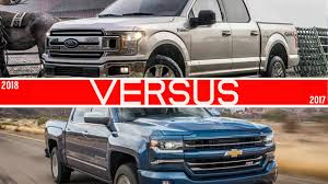 2018 Ford F150 Vs Chevrolet Silverado - YouTube
