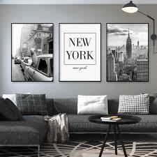 schwarz und weiß alpaka in taxi new york city leinwand gemälde retro poster und druck wand kunst pop bilder für wohnzimmer decor