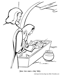 Christmas Story Coloring Pages 18