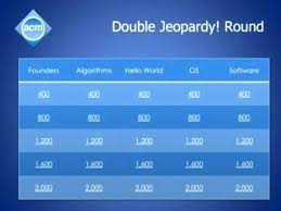 Daily Double Graphic And Sound Effect Jeopardy Template With Effects Monster Coupon