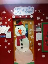 Kindergarten Winter Door Decorations winter classroom door snowman door second grade door decoration