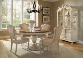 Round Dining Room Table Sets 4 Tables With Leaf Used For Centerpiece
