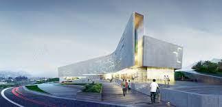 104 South Korean Architecture Sports Complex Project For The Daegu Gun Region Daegu City Korea Architectural Bureau A Len Archello