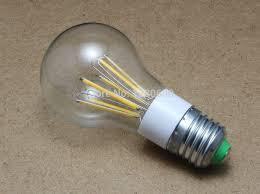 big sales filament led bulb 3w 4w 6w e27 12v ac 110lm w a55 led