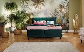 schlafzimmer dschungel ideen für die wandgestaltung otto