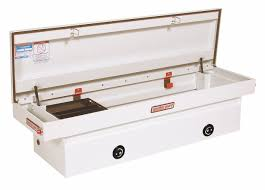 100 Weather Guard Truck Tool Boxes WEATHER GUARD Steel Crossover Box White Single 113 Cu Ft