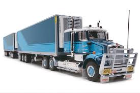 1 64 Australian Kenworth Truck Freight Road Train With Dolly Highway ...