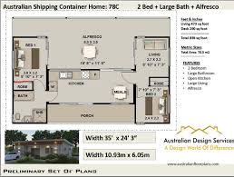 100 House Plans For Shipping Containers Ship Container House Plans 3 Containers Etsy