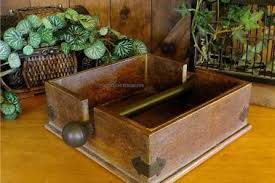 Rustic Primitive Country Industrial Wood Napkin Holder Metal Bar Wooden Decor 2495 Picclick