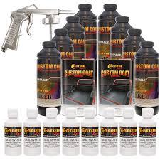 100 White Truck Bed Liner CUSTOM COAT BRIGHT WHITE 8L Urethane SprayOn Kit W