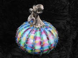 Glass Blown Pumpkins Seattle by 83 Best Glass Pumpkins Images On Pinterest Colors Confetti And