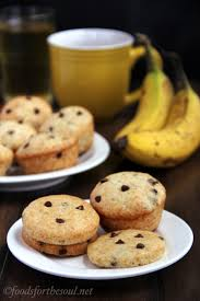 Panera Bread Pumpkin Muffin Nutrition Facts by Banana Chocolate Chip Muffins Or Muffin Tops Amy U0027s Healthy Baking