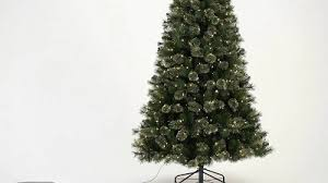 7ft Prelit Artificial Christmas Tree Alberta Spruce Multicolored