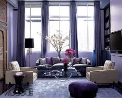 Grey And Purple Living Room Furniture by Purple And Red Living Room Ideas Plain Curtain Treatment Natural