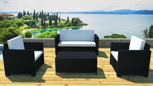 Fauteuil Canape Salon De Jardin Resine Rotin Tresse Beautiful Table Salon De Jardin Noir Ideas Amazing House Design
